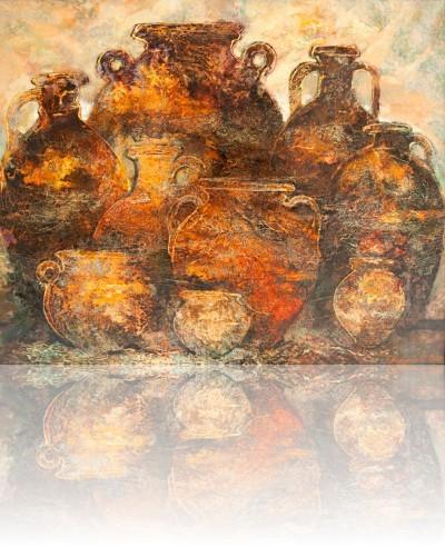 Кувшины. 2012 Холст, масло 73Х89