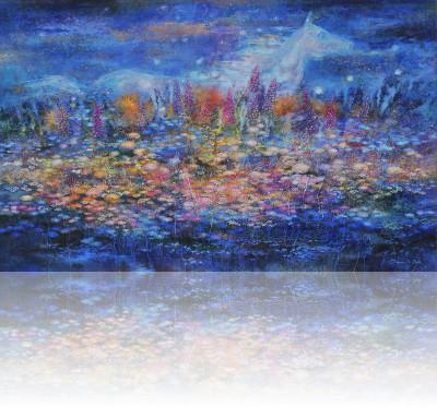 Ночь. 2008 Холст, масло 100Х160
