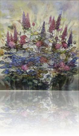 Цветы для... 80 x 70 холст, масло 2010