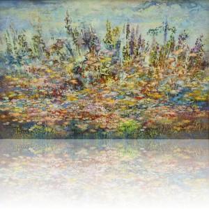 Цветы. 70 x 105 холст, масло 2011