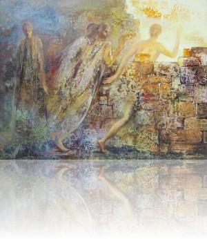 К свету. 81 x 105 1999