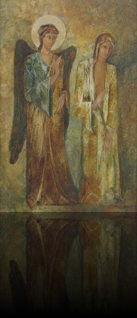 Благовещение. 100 x 65 холст, масло 1994