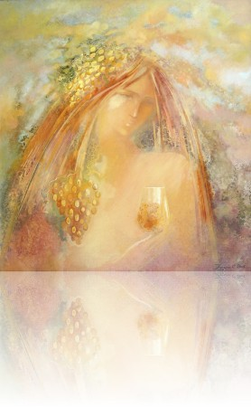 Белое вино. 70 x 65 холст, масло 2004