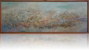 Утро. 70 x 194 холст, масло 2003
