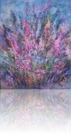 Цветы черногории. 100 x 80 холст, масло 2012