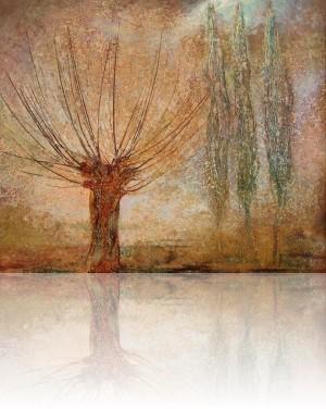 Дерева. 68 x 81 холст, масло 1993