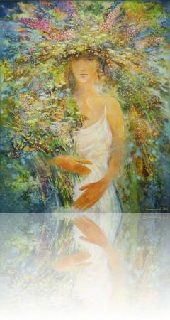Жизнь. 100 x 80 холст, масло 2011