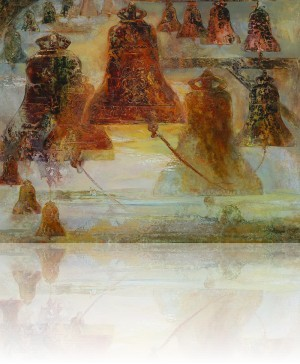 Колокола. 81 x 100 холст, масло 1995