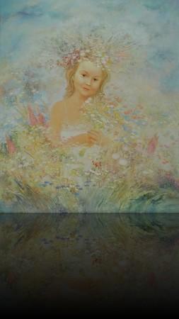 Кристина. 130 x 110 холст, масло 2003