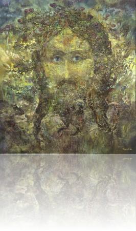 Лик. 180 x 160 холст, масло 2010