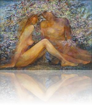 Любовь. 80 x 105 холст, масло 2011