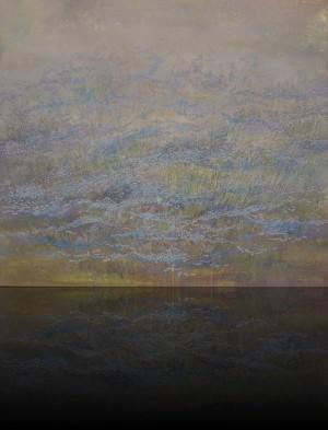 Незабудки. 105 x 120 холст, масло 1992