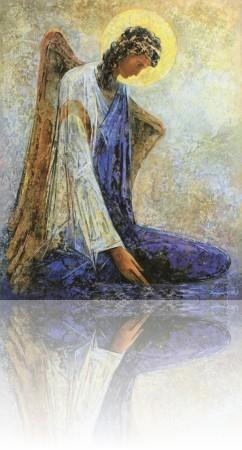 Ангел. 104 x 84 холст, масло 2007