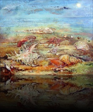 Ракушки. 80 x 100 холст, масло 1997
