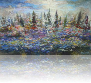 Раннее утро. 80 x 130 холст, масло 2011