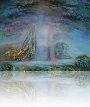 Река. 73 x 92 холст, масло 1998