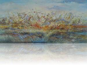 Утро. 70 x 140 холст, масло 2002