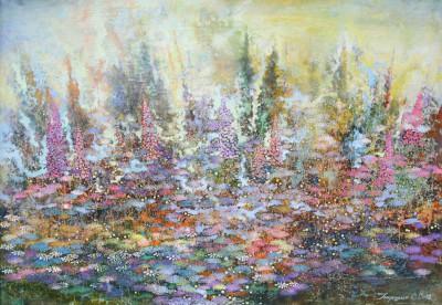 Сад. 2012 Холст, масло 56Х81