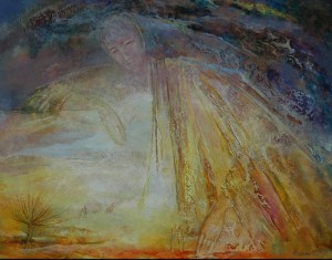 Белый день. 55 x 70 холст, масло 1998