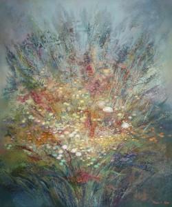 Большой букет. 180 x 150 холст, масло 1999