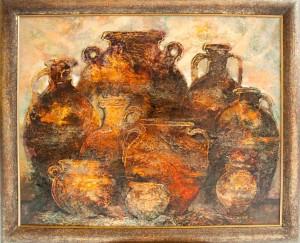 Кувшины. 73 x 89 холст, масло 2012