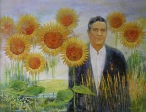 Герой труда портрет. 170 x 130 холст, масло 2008