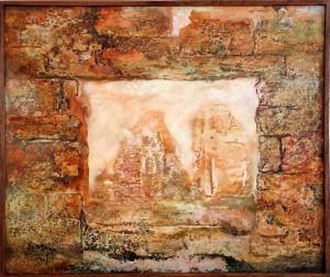 Аргентина. Старые стены. 77 x 92 2002