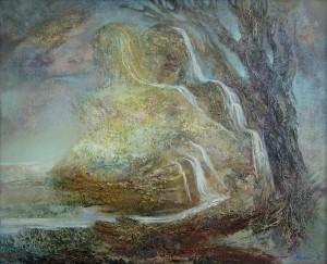 Объятия. 81 x 100 холст, масло 1997