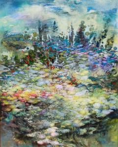 Сад. 100 x 80 холст, масло 2011