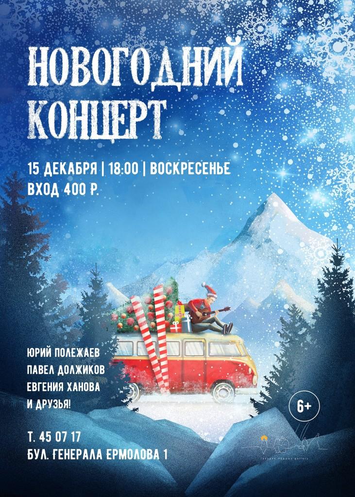 Новогодний концерт 6+